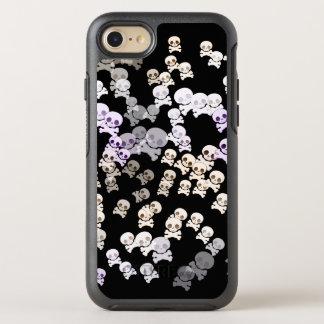 Capa Para iPhone 8/7 OtterBox Symmetry Crânios coloridos pequenos
