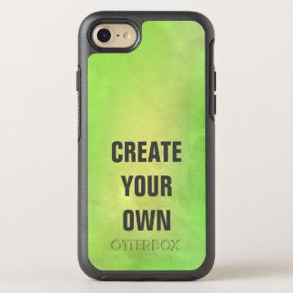 Capa Para iPhone 8/7 OtterBox Symmetry Criar sua própria pintura verde moderna da