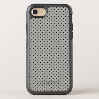 Capa Para iPhone 8/7 OtterBox Symmetry Criar suas próprias bolinhas pretas minúsculas