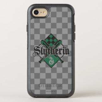 Capa Para iPhone 8/7 OtterBox Symmetry Crista de Harry Potter   Slytherin QUIDDITCH™