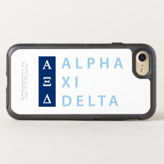 Capa Para iPhone 8/7 OtterBox Symmetry Delta do alfa Xi empilhado