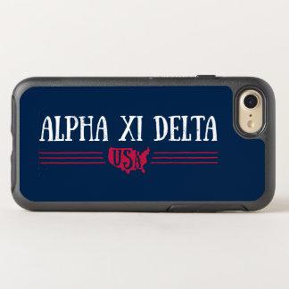 Capa Para iPhone 8/7 OtterBox Symmetry Delta EUA do alfa Xi