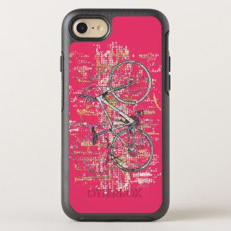 Capa Para iPhone 8/7 OtterBox Symmetry Desenho colorido da bicicleta