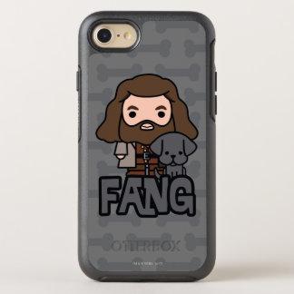 Capa Para iPhone 8/7 OtterBox Symmetry Desenhos animados Hagrid e arte do caráter do