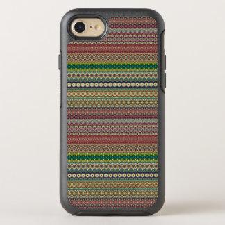 Capa Para iPhone 8/7 OtterBox Symmetry Design abstrato listrado tribal do teste padrão