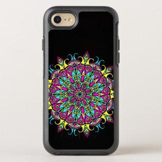 Capa Para iPhone 8/7 OtterBox Symmetry Design colorido da mandala