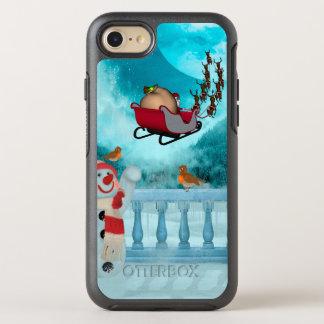 Capa Para iPhone 8/7 OtterBox Symmetry Design do Natal, Papai Noel