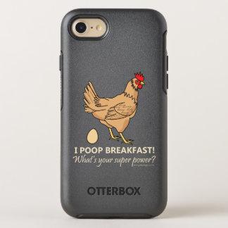 Capa Para iPhone 8/7 OtterBox Symmetry Design engraçado do pequeno almoço dos tombadilhos