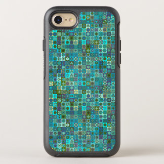 Capa Para iPhone 8/7 OtterBox Symmetry Design floral do teste padrão do abstrato da