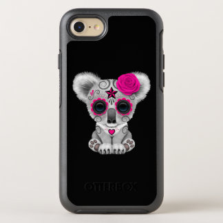 Capa Para iPhone 8/7 OtterBox Symmetry Dia cor-de-rosa do Koala inoperante do bebê