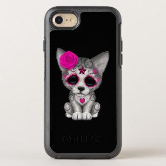 Capa Para iPhone 8/7 OtterBox Symmetry Dia cor-de-rosa do lobo Cub inoperante
