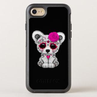 Capa Para iPhone 8/7 OtterBox Symmetry Dia cor-de-rosa do urso polar do bebê inoperante