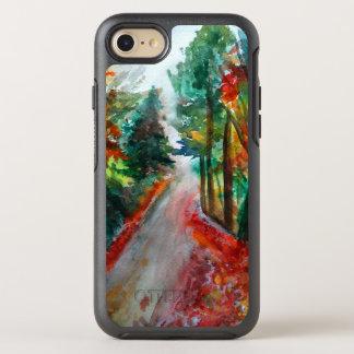 Capa Para iPhone 8/7 OtterBox Symmetry Dia para fora na aguarela da paisagem do outono