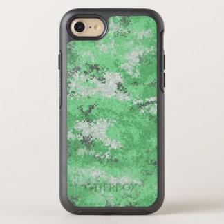 Capa Para iPhone 8/7 OtterBox Symmetry Digi verde Camo
