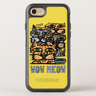 "Capa Para iPhone 8/7 OtterBox Symmetry Do ""caso de Otterbox do Meow wow"""