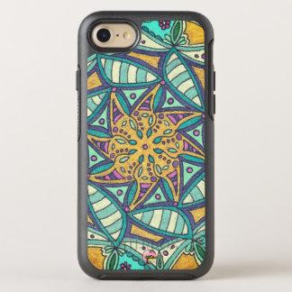 """Capa Para iPhone 8/7 OtterBox Symmetry Do """"caso de Otterbox dos trabalhos artísticos"""