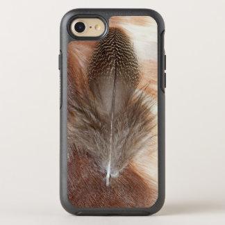 Capa Para iPhone 8/7 OtterBox Symmetry Do ganso da pena vida egípcia ainda