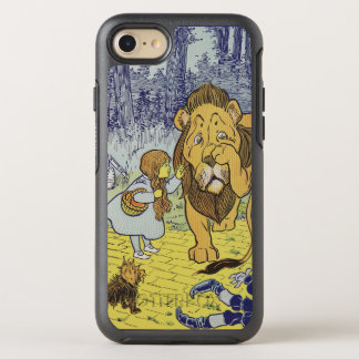 Capa Para iPhone 8/7 OtterBox Symmetry Dorothy e o leão Cowardly