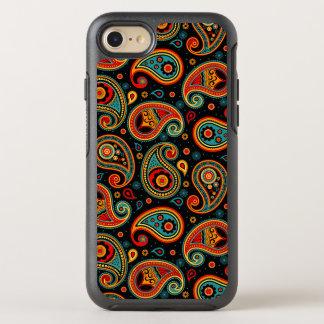 Capa Para iPhone 8/7 OtterBox Symmetry Elegante colorido de Paisley