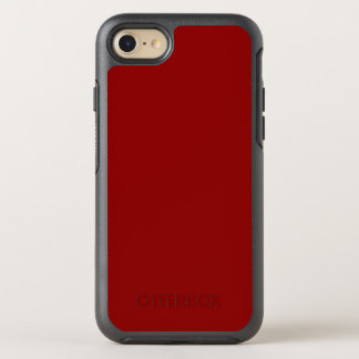 Capa Para iPhone 8/7 OtterBox Symmetry Escuro - caixa vermelha do iPhone 7 da simetria de