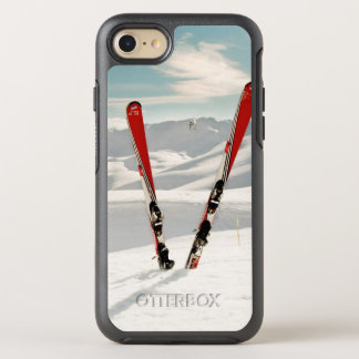Capa Para iPhone 8/7 OtterBox Symmetry Esquis vermelhos
