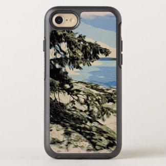 Capa Para iPhone 8/7 OtterBox Symmetry Estilo pacífico do woodblock da praia