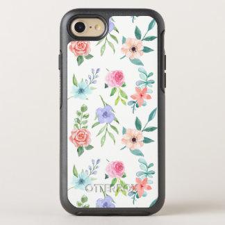 Capa Para iPhone 8/7 OtterBox Symmetry Estilo Pastel da aguarela floral