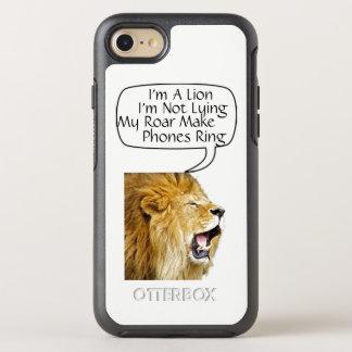 Capa Para iPhone 8/7 OtterBox Symmetry Eu sou um leão, caso de Otterbox