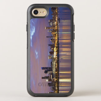 Capa Para iPhone 8/7 OtterBox Symmetry EUA, Illinois, Chicago, skyline da cidade sobre o