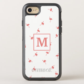 Capa Para iPhone 8/7 OtterBox Symmetry Exemplo cor-de-rosa bonito do flamingo