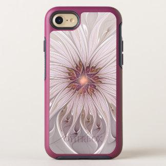 Capa Para iPhone 8/7 OtterBox Symmetry Fantasia floral, flor Pastel moderna abstrata