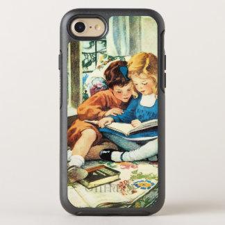 Capa Para iPhone 8/7 OtterBox Symmetry Feliz Natal por Jessie Willcox Smith