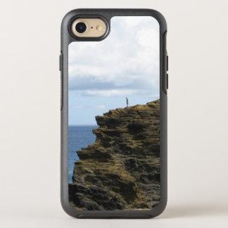 Capa Para iPhone 8/7 OtterBox Symmetry Figura solitário em um penhasco