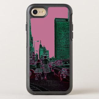 Capa Para iPhone 8/7 OtterBox Symmetry Filha da mãe que compra a avenida Chicago 1961 de
