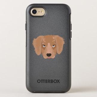 Capa Para iPhone 8/7 OtterBox Symmetry Filhote de cachorro insolente bonito