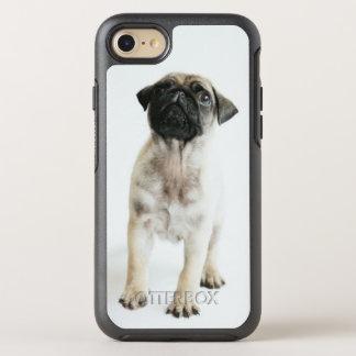 Capa Para iPhone 8/7 OtterBox Symmetry Filhote de cachorro minúsculo e bonito do Pug