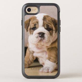 Capa Para iPhone 8/7 OtterBox Symmetry Filhotes de cachorro ingleses do buldogue