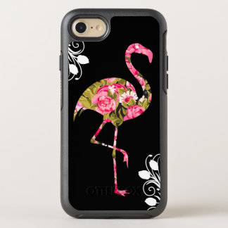 Capa Para iPhone 8/7 OtterBox Symmetry Flamingo tropical floral