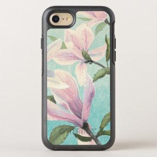 Capa Para iPhone 8/7 OtterBox Symmetry Flores cor-de-rosa do sul