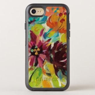 Capa Para iPhone 8/7 OtterBox Symmetry Flores da alegria do outono