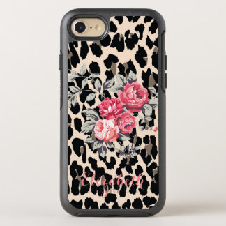 Capa Para iPhone 8/7 OtterBox Symmetry Flores modernas bonitos no leopardo