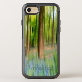 Capa Para iPhone 8/7 OtterBox Symmetry Floresta BRITÂNICA do carvalho do Bluebell de