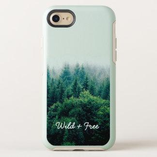 Capa Para iPhone 8/7 OtterBox Symmetry Floresta verde bonita selvagem e livre