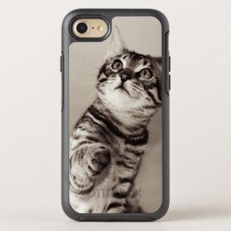 Capa Para iPhone 8/7 OtterBox Symmetry Foto bonito do gatinho de Bengal