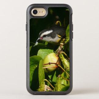 Capa Para iPhone 8/7 OtterBox Symmetry Fotografia tropical da natureza comer do pássaro