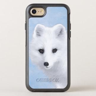 Capa Para iPhone 8/7 OtterBox Symmetry Fox ártico