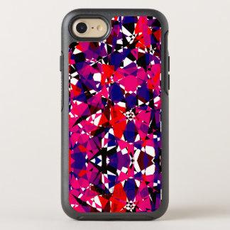 Capa Para iPhone 8/7 OtterBox Symmetry Fragmento quebrado colorido abstrato