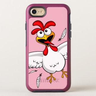 Capa Para iPhone 8/7 OtterBox Symmetry Galinha cómico bonito engraçada legal dos desenhos