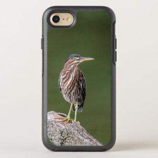 Capa Para iPhone 8/7 OtterBox Symmetry Garça-real verde em um registro