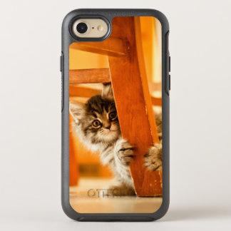 Capa Para iPhone 8/7 OtterBox Symmetry Gatinho que guardara o pé da cadeira